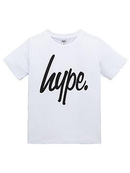 hype-boys-script-t-shirt-white