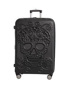 it-luggage-skulls-8-wheel-hard-shell-expander-large-case