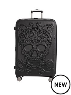 it-luggage-skulls-8-wheel-hard-shell-expander-large-case