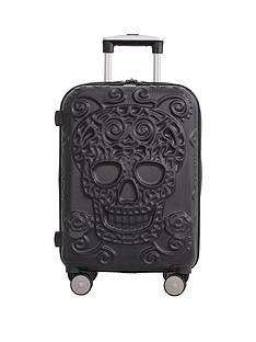 it-luggage-skulls-8-wheel-hard-shell-expander-cabin-case