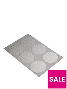 kitchencraft-reversible-grey-spots-placemats-ndash-set-of-6