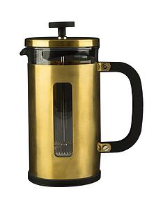 kitchencraft-edited-pisa-8-cup-cafetiere-brushed-gold