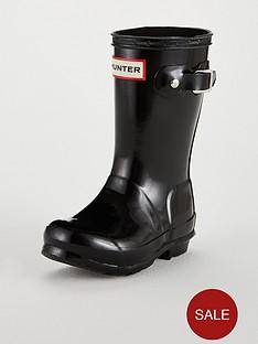 hunter-original-kids-gloss-wellington-boots-black