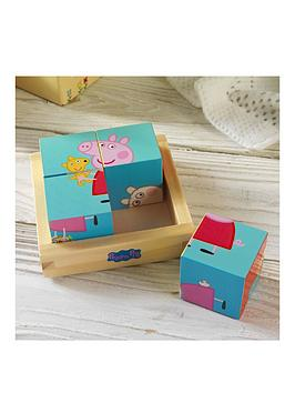 peppa-pig-personalised-puzzle-block-tray