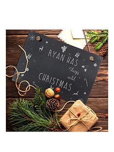 personalised-sleeps-until-christmas-hanging-slate-sign