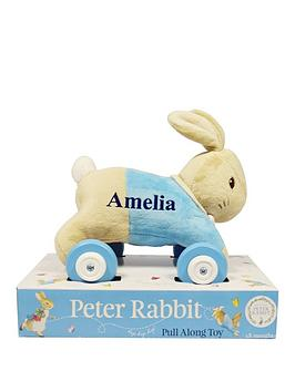peter-rabbit-personalised-peter-rabbit-pull-along