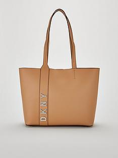 dkny-bedfordnbsplogo-large-tote-bag-brown