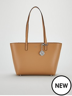 02c5c9f79af45 DKNY Bryant Sutton Medium Tote Bag - Latte
