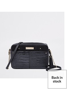 river-island-river-island-croc-boxy-cross-body-bag-black