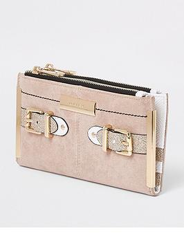 Detail Buckle River Purse Beige Island River Island Foldout Clearance Store 100 Authentic Cheap Online Clearance Pick A Best Buy Cheap Original YzXNNI8