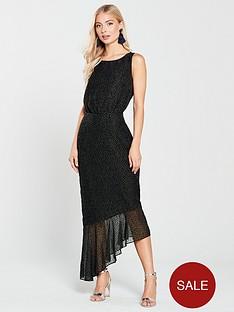 phase-eight-dotty-burnout-asymmetric-dress-black