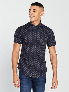v-by-very-short-sleeve-geo-shirt