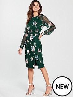 phase-eight-abrianna-print-dress-forest