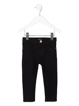 river-island-mini-girls-black-molly-mid-rise-jeggings