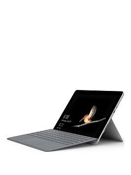 microsoft-microsoft-surface-go-intel-pentium-gold-processor-4415y-4gb-ram-64gb-emmc-ssd-10in-touchscreen-2-in-1-laptop-platinum-with-platinum-type-cover