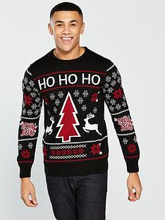 v-by-very-holly-jolly-slogan-christmas-jumper