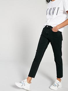 22cba4d56ec123 Tommy Jeans Izzy High Rise Slim Jeans - Black