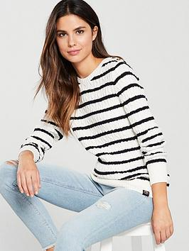 Superdry Croyde Bay Cable Knit Jumper - Multi  ee00c6bb3