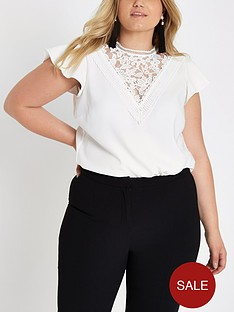 ri-plus-lace-insert-blouse--white