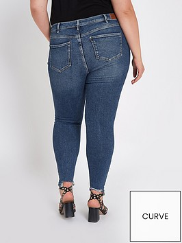6af420c128 RI Plus Regular Length Amelie Super Skinny Jeans - Blue ...