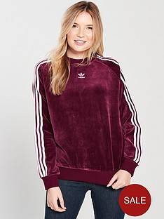 adidas-originals-trefoil-crew-sweat-maroonnbsp