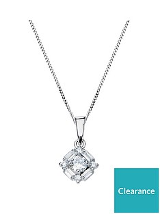 the-love-silver-collection-sterling-silver-mixed-cut-cubic-zirconia-pendant-necklace