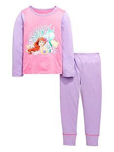 disney-princess-little-mermaid-ariel-girls-pyjamas-set