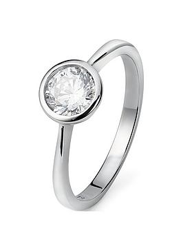 the-love-silver-collection-sterling-silver-6mm-white-cubic-zirconia-solitaire-ring