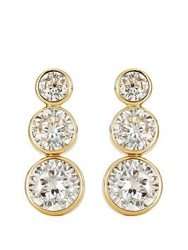 love-gold-9ct-gold-cubic-zirconia-3-stone-graduated-stud-earrings