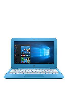 hp-stream-11-ah005na-intelreg-celeronreg-2gbnbspramnbsp32gbnbspstorage116-inch-laptopnbspwith-microsoft-office-365-home-and-optional-mcafeenbsplivesafe-blue