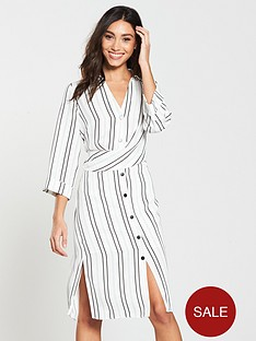 river-island-river-island-stripe-midi-shirt-dress-ivory