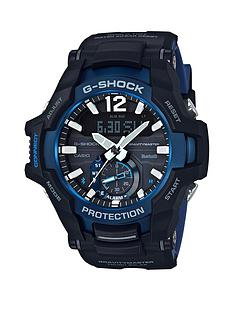 casio-g-shock-gravitymaster-bluetooth-connected-black-blue-and-white-detail-chronograph-dial-black-silicone-strap-mens-watch