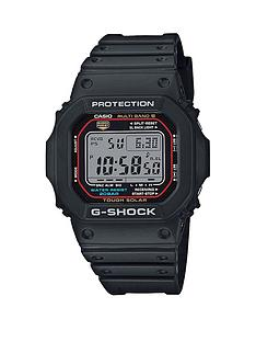 casio-casio-g-shock-radio-controlled-solar-black-dial-black-silicone-strap-mens-watch