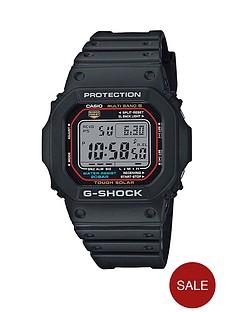 casio-casio-g-shock-radio-controlled-solar-black-dial-black-silicone-strap-mens-watch