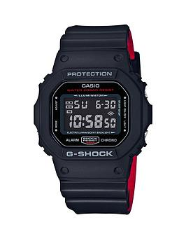 casio-casio-g-shock-all-black-dial-black-and-red-detail-silicone-strap-mens-watch