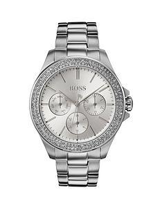 boss-premiere-crystal-set-multi-dial-stainless-steel-bracelet-ladies-watch