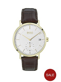 boss-corporal-white-sunray-and-carnation-gold-detail-leather-strap-mens-watch