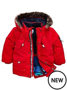f337fc3d8043 Baker by Ted Baker Toddler Boys Parka Coat