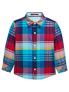 ac04707c1f0fdb Baker by Ted Baker Boys Long Sleeve Check Shirt