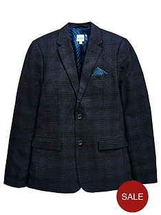 30f609272 Baker by Ted Baker Boys Check Formal Jacket