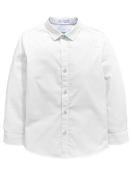 33b8e5e7e207b Baker by Ted Baker Boys Formal Long Sleeve Shirt