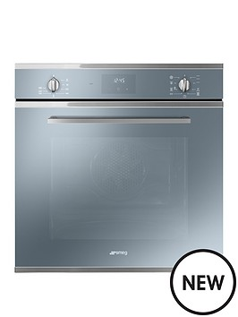 Smeg Cucina SF6400TVS 60cm Multifunction Single Built in Oven with ...