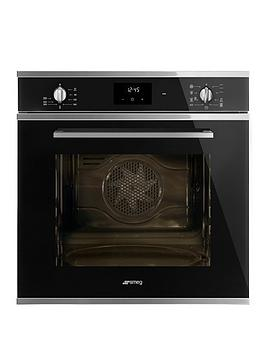 Smeg Cucina SF6400TVN 60cm Multifunction Single Built-in Oven with ...