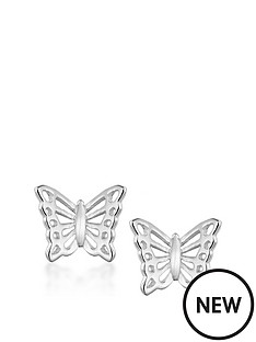 the-love-silver-collection-sterling-silver-filigree-butterfly-stud-earrings