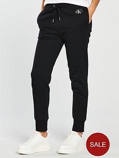 calvin-klein-monogram-logo-sweat-pant-black