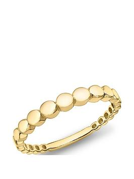 love-gold-9ct-gold-graduated-circle-ring