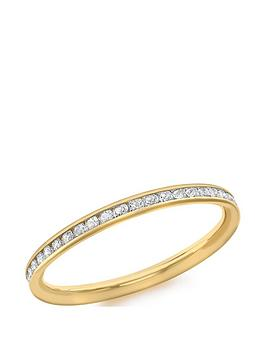 love-gold-9ct-gold-white-cubic-zirconia-set-ring