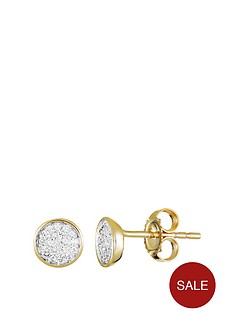 love-diamond-9ct-gold-6-point-diamond-cluster-round-stud-earrings