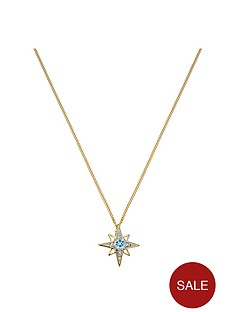 love-gem-gold-plated-silver-blue-topaz-amp-diamond-set-star-pendant-necklace