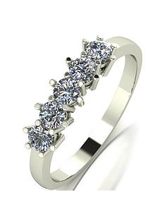 moissanite-9ct-gold-12-carat-eq-moissanite-5-stone-eternity-ring